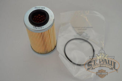 Q1064 1Am Buell Genuine Oil Filter Kit With O Ring 1125R 1125Cr B2H Engine