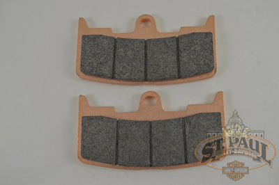 Braking Sintered Metal Brake Front Pad Set 2003-2010 Xb Models With 6 Piston Calipers Brakes