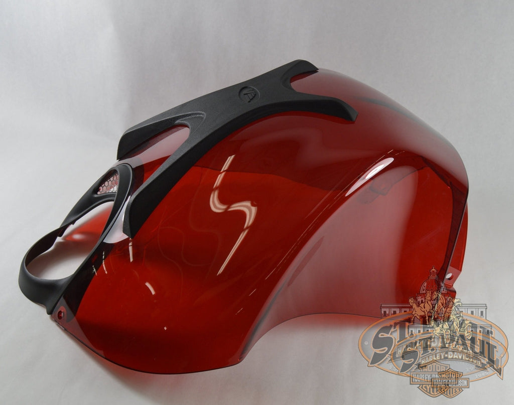 M1224.5Ajmcc Genuine Buell Air Box Cover In Cherry Bomb With Decals Xb & 1125 Models (Ubs2) Body