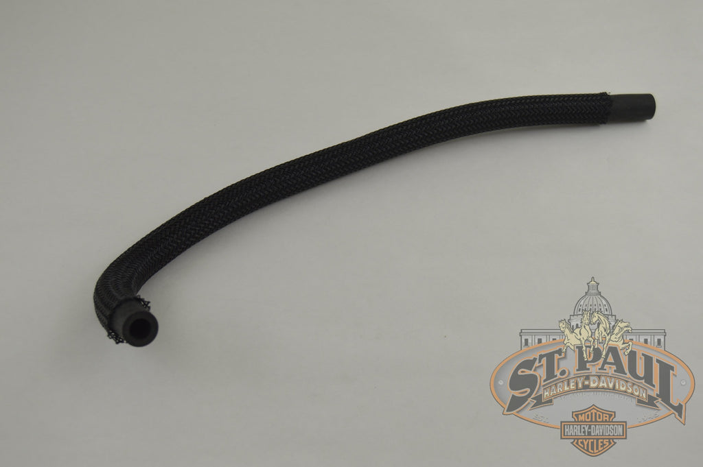 Hs0016.02A8 Genuine Buell Front Breather Hose W/ Sleeve All Xb Models (B1H) Engine