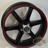 G0309 02A8Bydc Genuine Buell Rear Piranha Black With Red Pinstrip Wheel Fits All Xbs 1125S Models