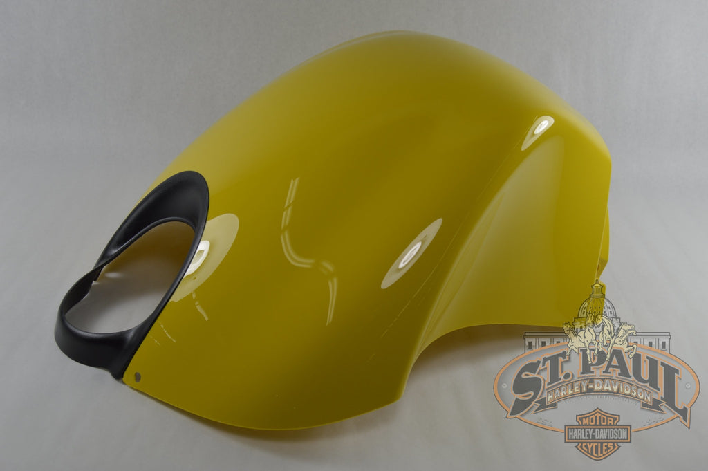 M1224 1Admal Genuine Buell Sunfire Yellow Intake Cover With Decal 2003 2010 Xb 1125 Models U9F Body