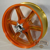 G1309 02A8Ybr Genuine Buell Rear Translucent Amber Wheel Fits All Xbs 1125S Models U6A Wheels