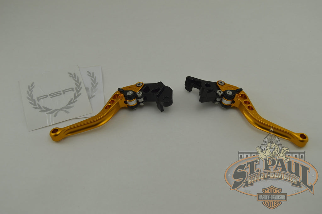 581-9077/581-9092 Psr Clutch/brake Levers Gold 03-10 Xbs (L2D2) Handlebar / Controls