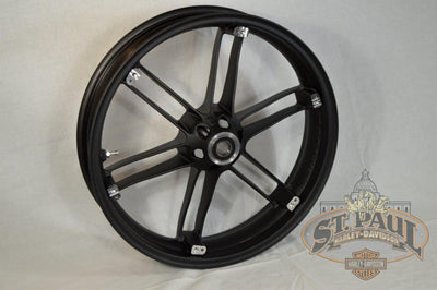 G0110 02A8Bycx Genuine Buell Front Piranha Black Wheel All Xbs 1125S U6A Wheels