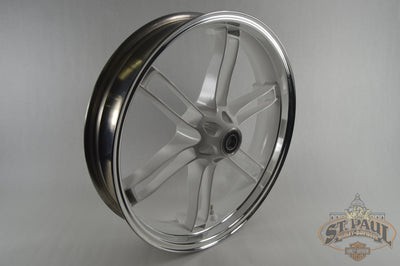 G0110.02Abyj Genuine Buell Front Sky White With Machined Face Wheel All Xbs & 1125 (U5C) Wheels