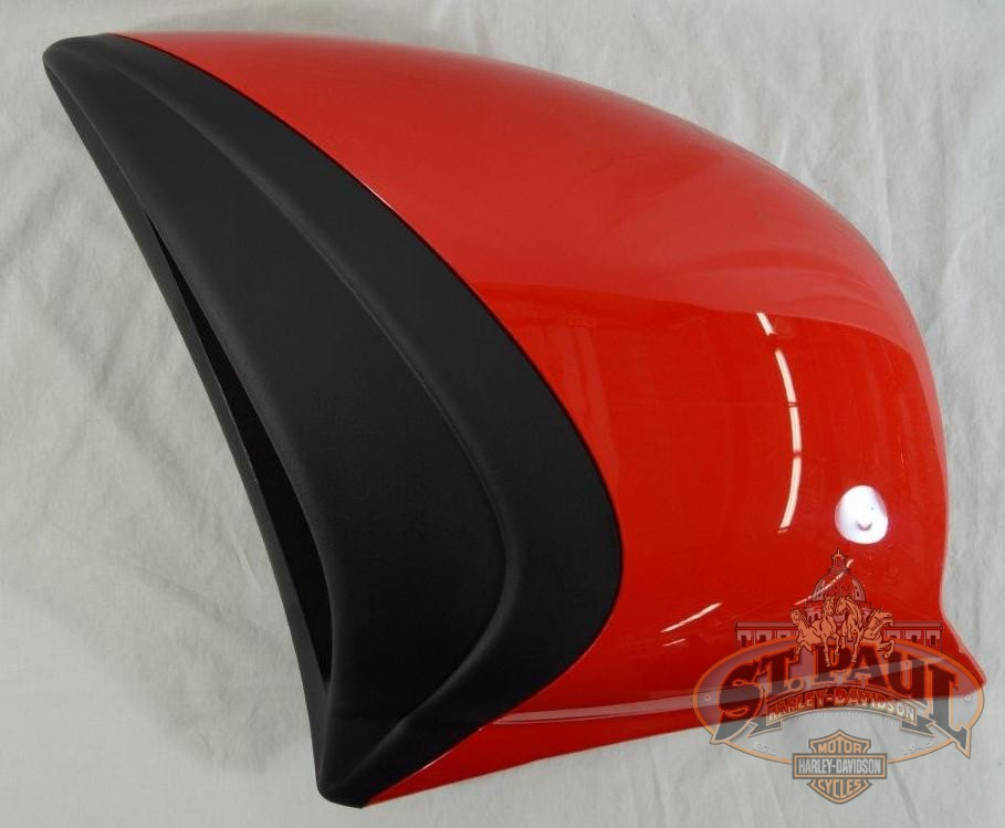 M3034 3Ammbk Genuine Buell Radiator Outer Shroud With Decal Left Red U5B Body