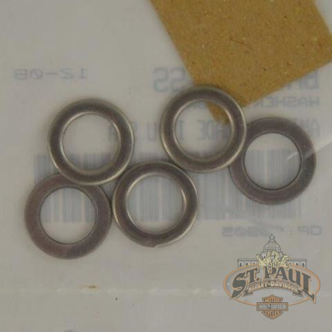 Ba0610 1Ss Genuine Buell T Bar Footpeg Washers For Tube Frame Models 5 Pack B2P