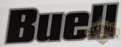 M0725 2Am Genuine Buell Fuel Tank Air Box Cover Decal Sold As Pair B4D Emblem
