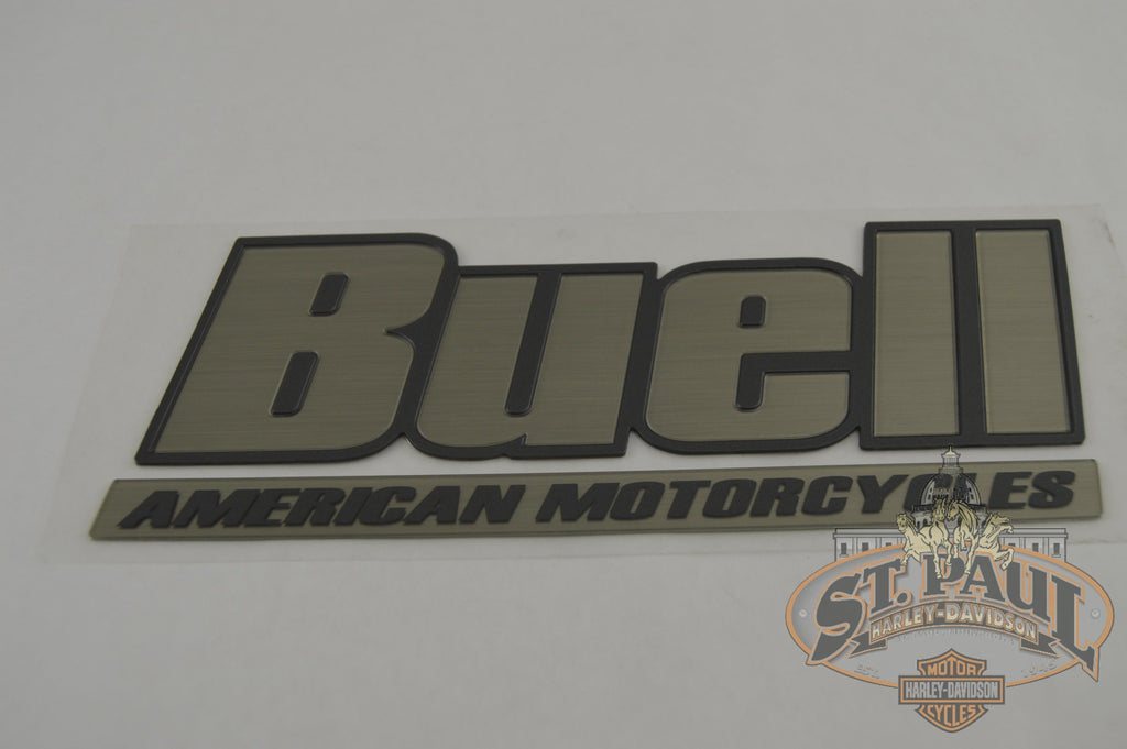M0725.1Ak Genuine Buell Fuel Tank / Air Box Cover Decal Sold As Pair Emblem