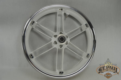 G0110.02A8Byj Genuine Buell Sky White Front Wheel All Xbs & 1125S (U6A+) Wheels
