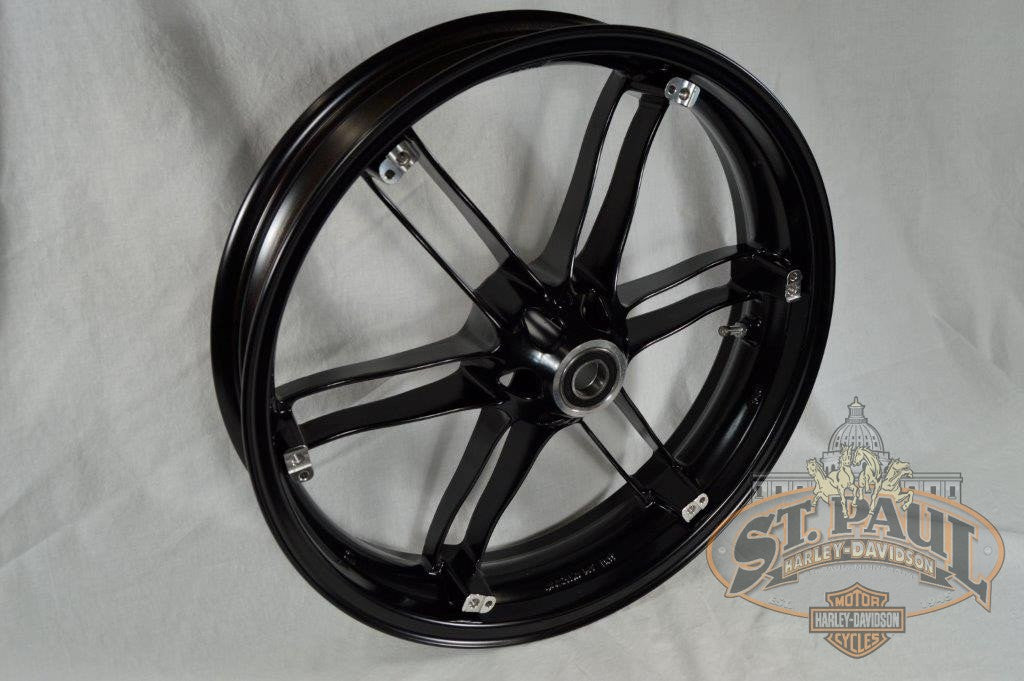 G0110 02A8Byt Genuine Buell Front Villian Black Wheel All Xbs 1125S U6A Wheels