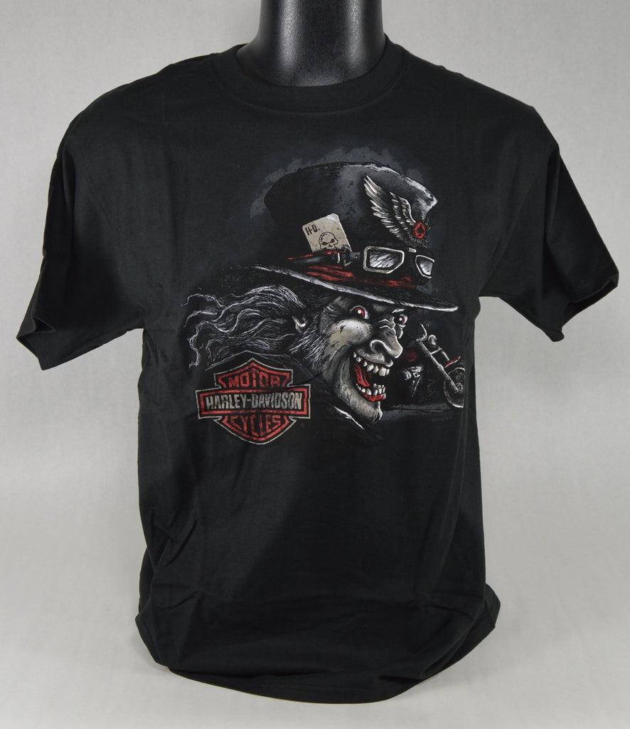 "St. Paul Harley-Davidson Short Sleeve T-Shirt, Men's ""Mad Joker"""