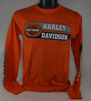 "St. Paul Harley-Davidson Long Sleeve T-Shirt, Men's ""Split Block"""