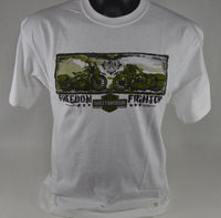 "St. Paul Harley-Davidson Short Sleeve T-Shirt, Men's ""Freedom Fighter"""