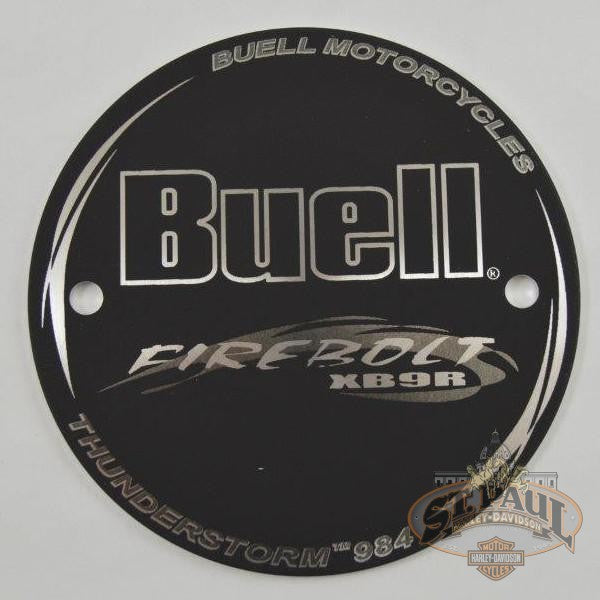 T0111 3A8 Buell Xb9R Outer Timer Cover U10D