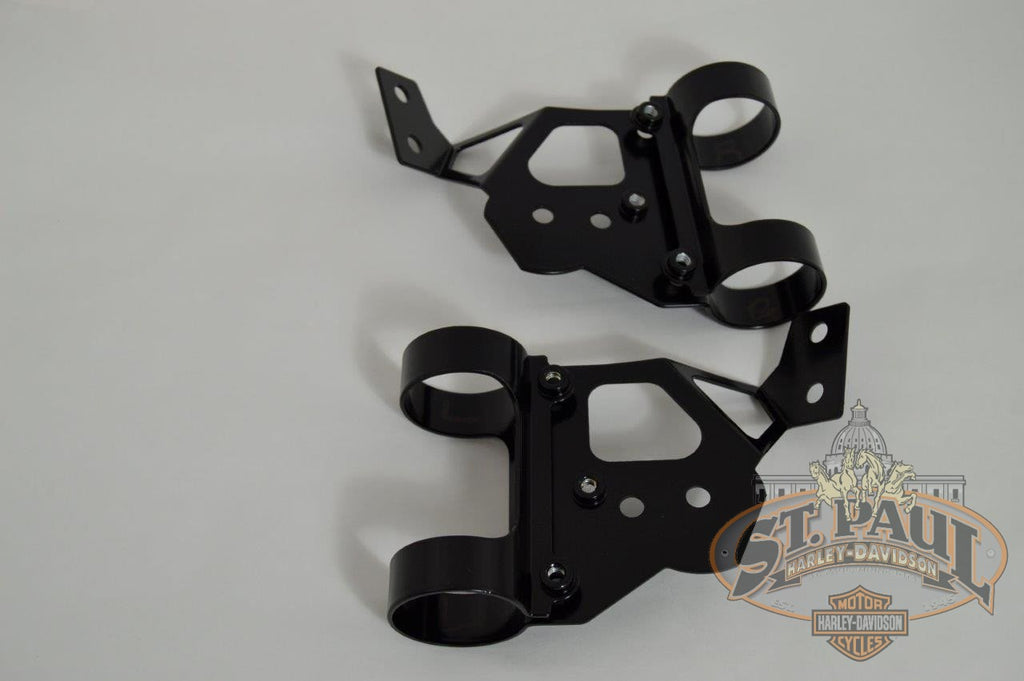 M0672 01A3 M0671 Genuine Buell Headlight Mounting Bracket Set For 2000 2001 M2 U8Cu10B Body