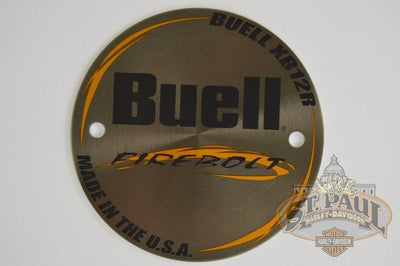 T0111 1Aa Genuine Buell Xb12R Outter Timer Cover U10D