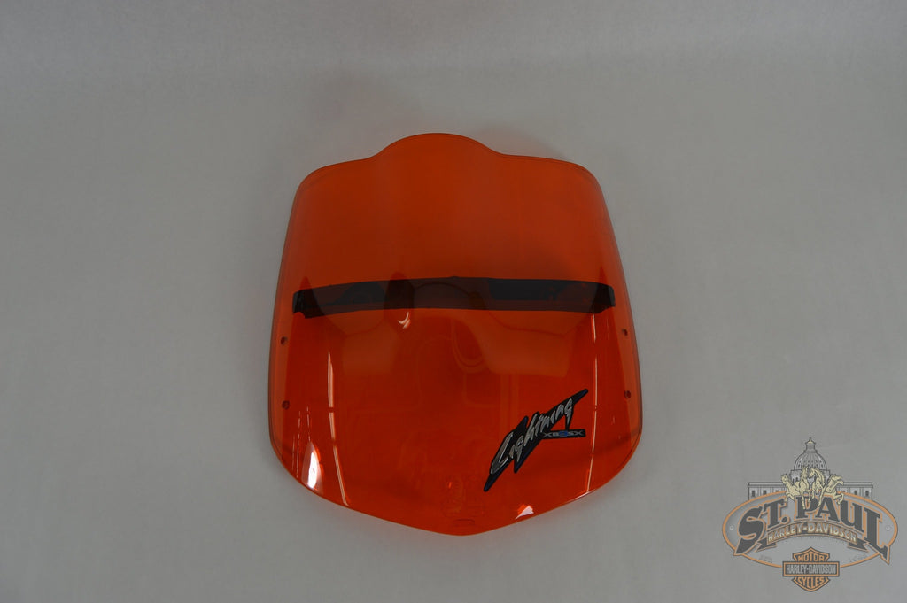 M1600.1Ajmch Genuine Buell Transparent Amber Windscreen Kit W/decal Xb Lightning Models Body