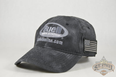 New!!! Sphd Buell - American Motorcycles Hat Kryptek Camo Apparel