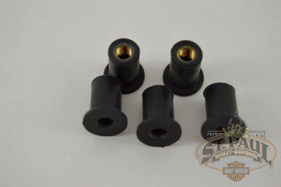 M0602 0 Genuine Buell 5 Pack Of Well Nuts For Windscreens B1Q Body
