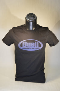 SPHD Buell American Motorcycles Black T-Shirt - 1125R