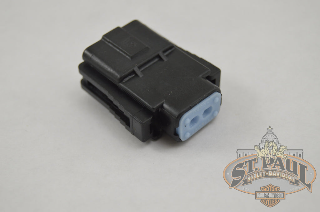 Y0119 02A8 Genuine Buell Fuel Injector Electrical Connector Housing U9A