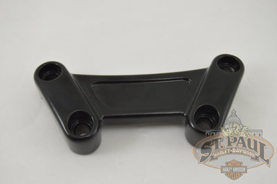 N0348 1Adyt Genuine Buell Upper Handlbar Clamp In Designer Black L19D Handlebar Controls