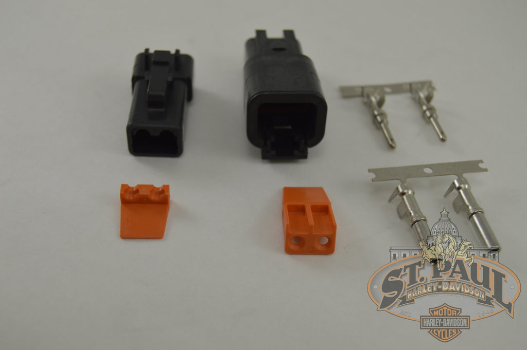 Y1312 02A8 Genuine Buell Voltage Regulator Connector Service Kit B2M Electrical