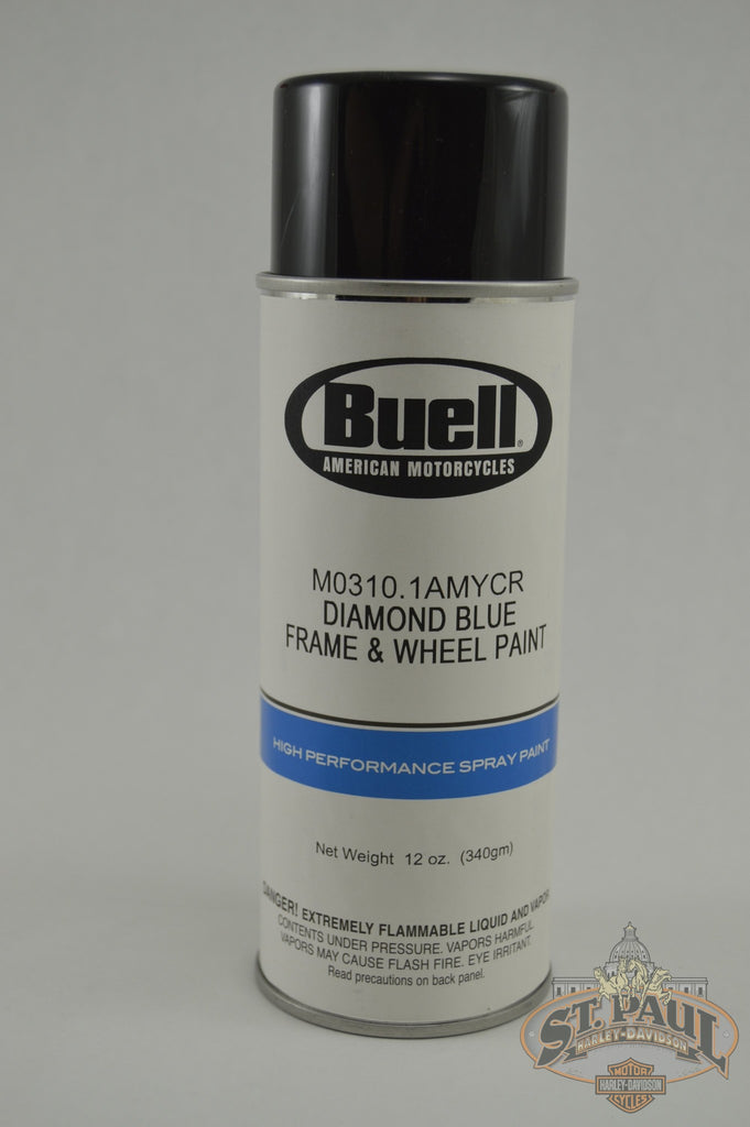 M0310 1Amycr Genuine Buell Diamond Blue 12Oz Aerosol Paint L19E Chassis