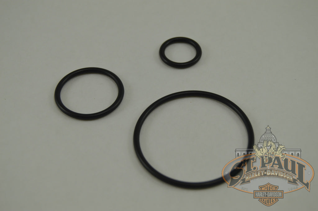 J9147 02A8 Genuine Buell Fork Preload O Ring Set L19E Suspension