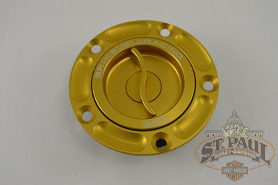 P0061 10Az Ebr Aluminum Quick Action Fuel Cap Kit Amber Gold L18E Chassis