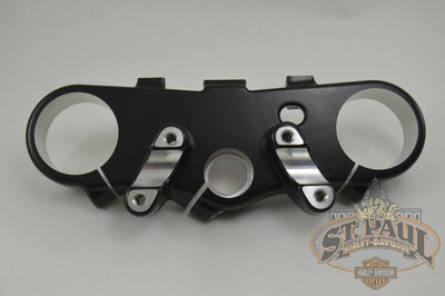 J0105 1Akcyt Genuine Buell Upper Triple Tree Clamp In Designer Black 2006 2010 Xb12X Xb12Xt L18C