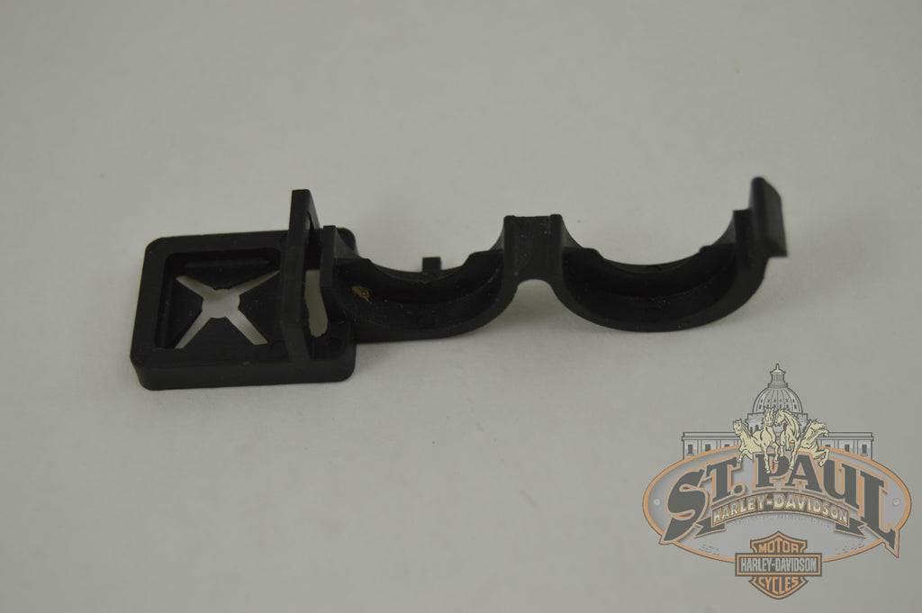 C0098 02A8 Genuine Buell Left Rider Heel Guard Vent Hose Routing Clip 157 L18B Chassis