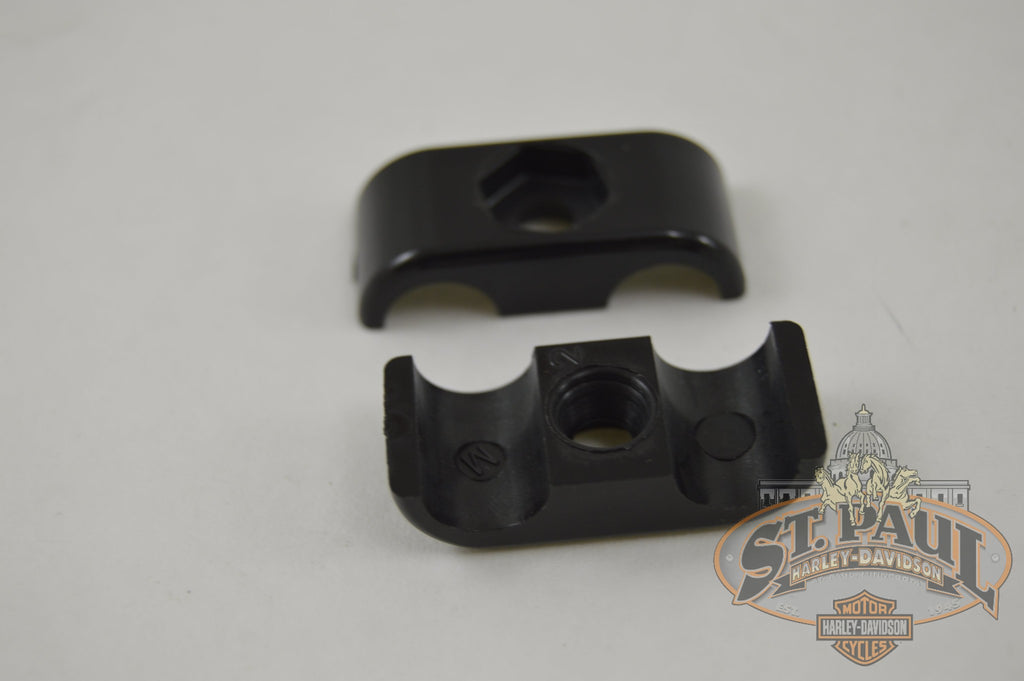 C0034 02A8 Genuine Buell 2 Pc Nylon 38 Oil Line Clamp B4S Engine