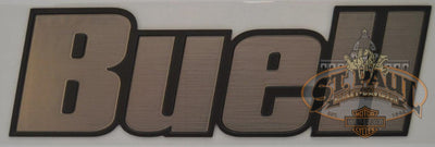 M0725 2Ak Genuine Buell Fuel Tank Air Box Cover Decal Sold As Pair B4D Emblem