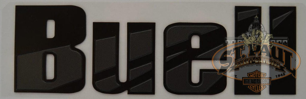 M0725 4Aayal Genuine Buell Fuel Tank Air Box Cover Decal Sold As Pair B4D Emblem