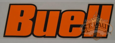 M0725 1As Genuine Buell Fuel Tank Air Box Cover Decal Sold As Pair B4D Emblem