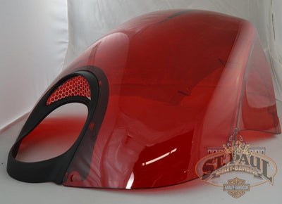 M1224 4Acmcc Genuine Buell Air Box Cover In Cherry Bomb Xb 1125 Models Asd Body