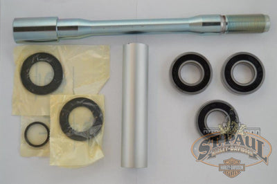 G1321 1Am Genuine Buell Rear Axle Wheel Bearing Kit 08 10 1125Rcr With 3 Bearings L19D