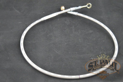 H0531 B Genuine Buell Oem Stainless Steel Front Brake Line For Most Tube Frames U9D Brakes