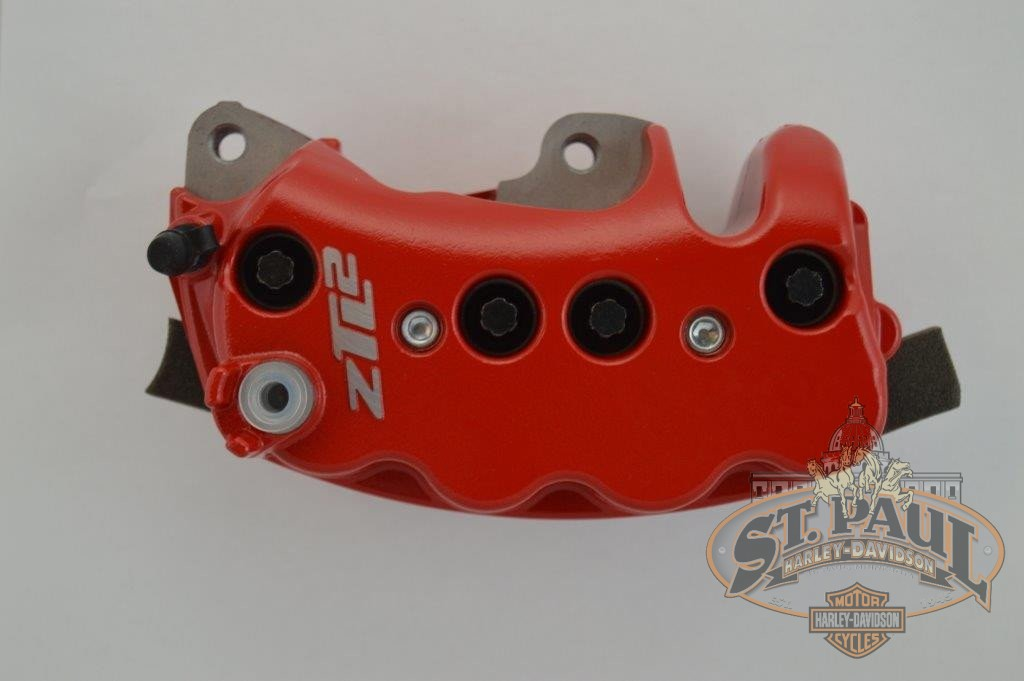 H0110 1Amcydd Genuine Buell 8 Piston Front Brake Caliper In Red B3P Brakes
