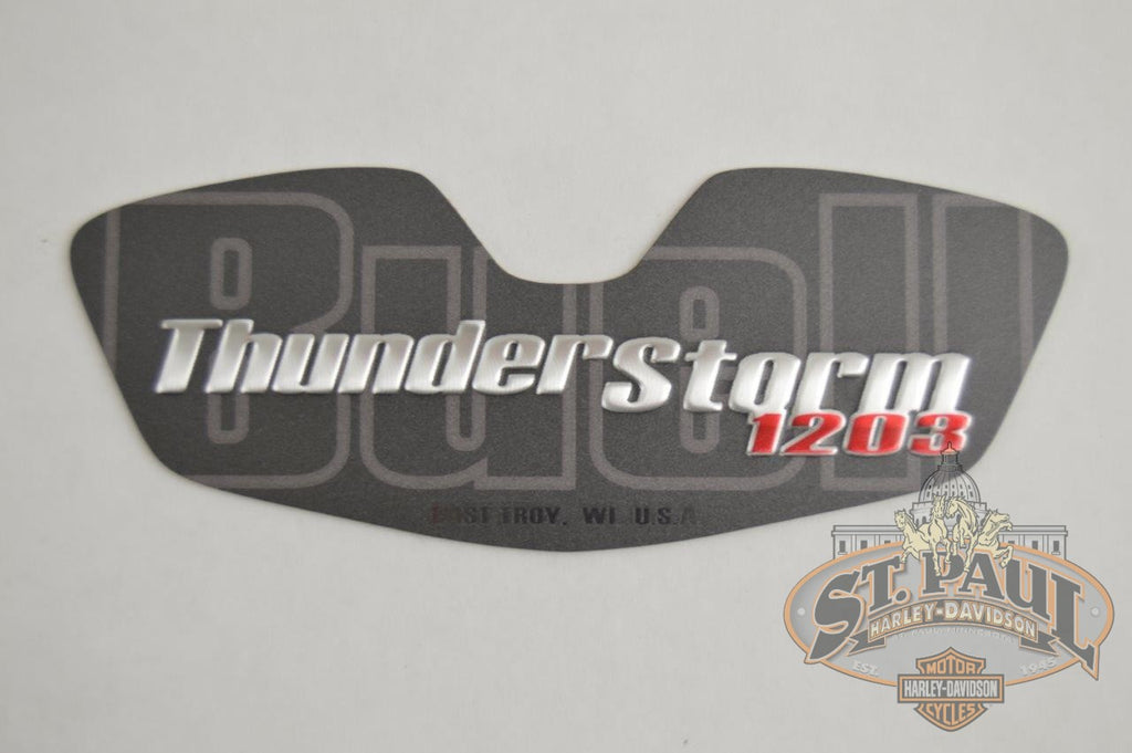 T0120 5Aa Genuine Buell Oil Pump Cover Graphic Decal 2008 2010 Xb Models L18C Emblem