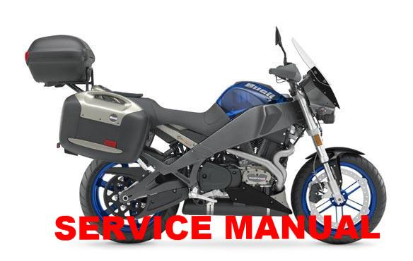 Genuine Buell 2006 2010 XB Ulysses Service Manuals