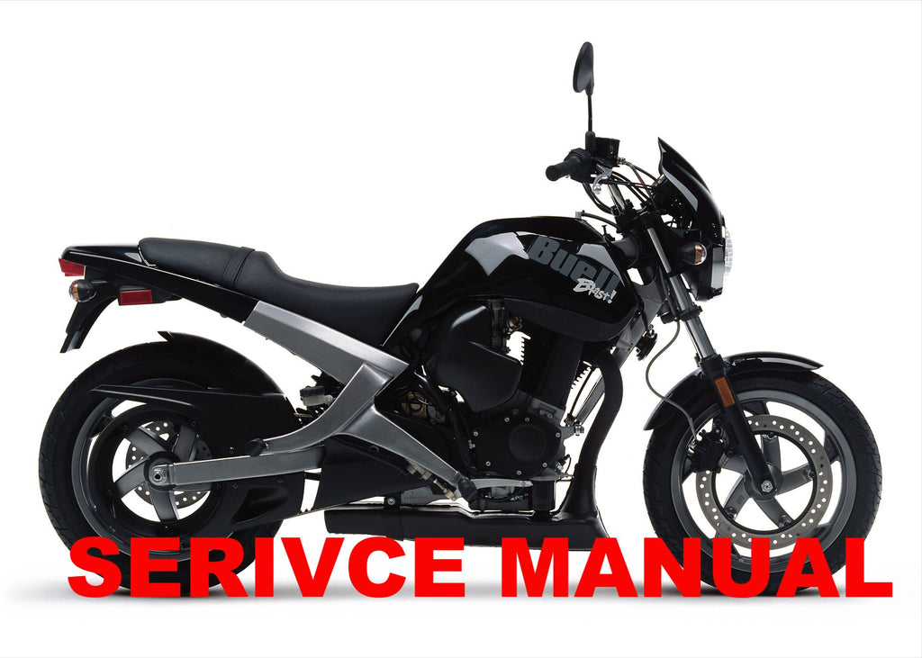 Genuine Buell 2000-2010 Blast / P3 Service Manuals