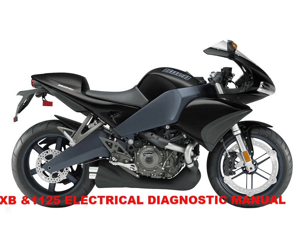 Genuine Buell 2008-2010 XB & 1125 Electrical Diagnostics Manuals