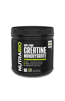 NutraBio - CREATINE MONOHYDRATE Powder Unflavored 30 Servings (150g)