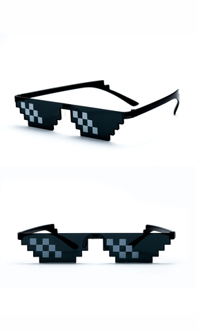 Thug Life Deal With It 8 Bits Style Pixel Sunglasses (4 styles) - Be the Boss