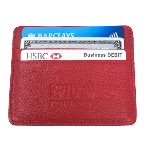 RFID Credit Card Wallet Geniuses Leather - Be the Boss