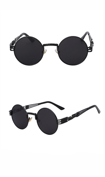 Gothic Steampunk Unisex Multicolour Sunglasses (5 colours) - Be the Boss